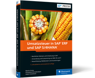 Umsatzsteuer in SAP ERP und SAP S/4HANA